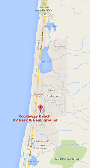 Oregon Coast Rv Camping Rockaway Beach Campground Amp Rv